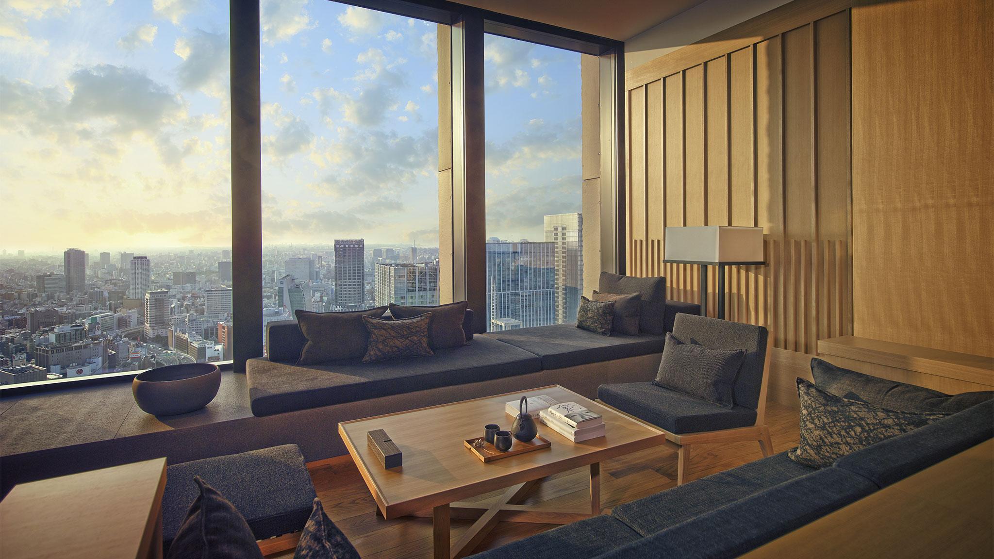 an exclusive look inside aman resorts tokyo hotel