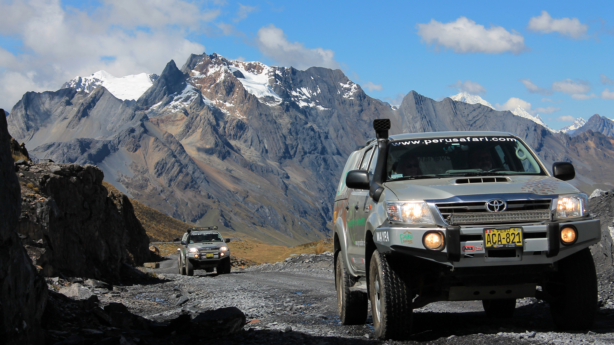 A 'Top Gear'-style road trip through Peru | Financial Times