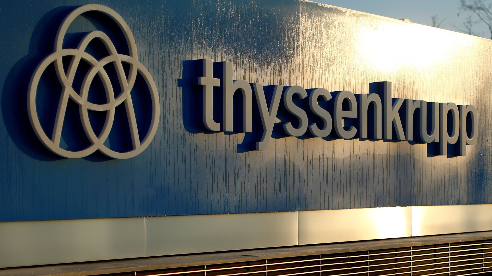 ThyssenKrupp relegated from blue-chip German index