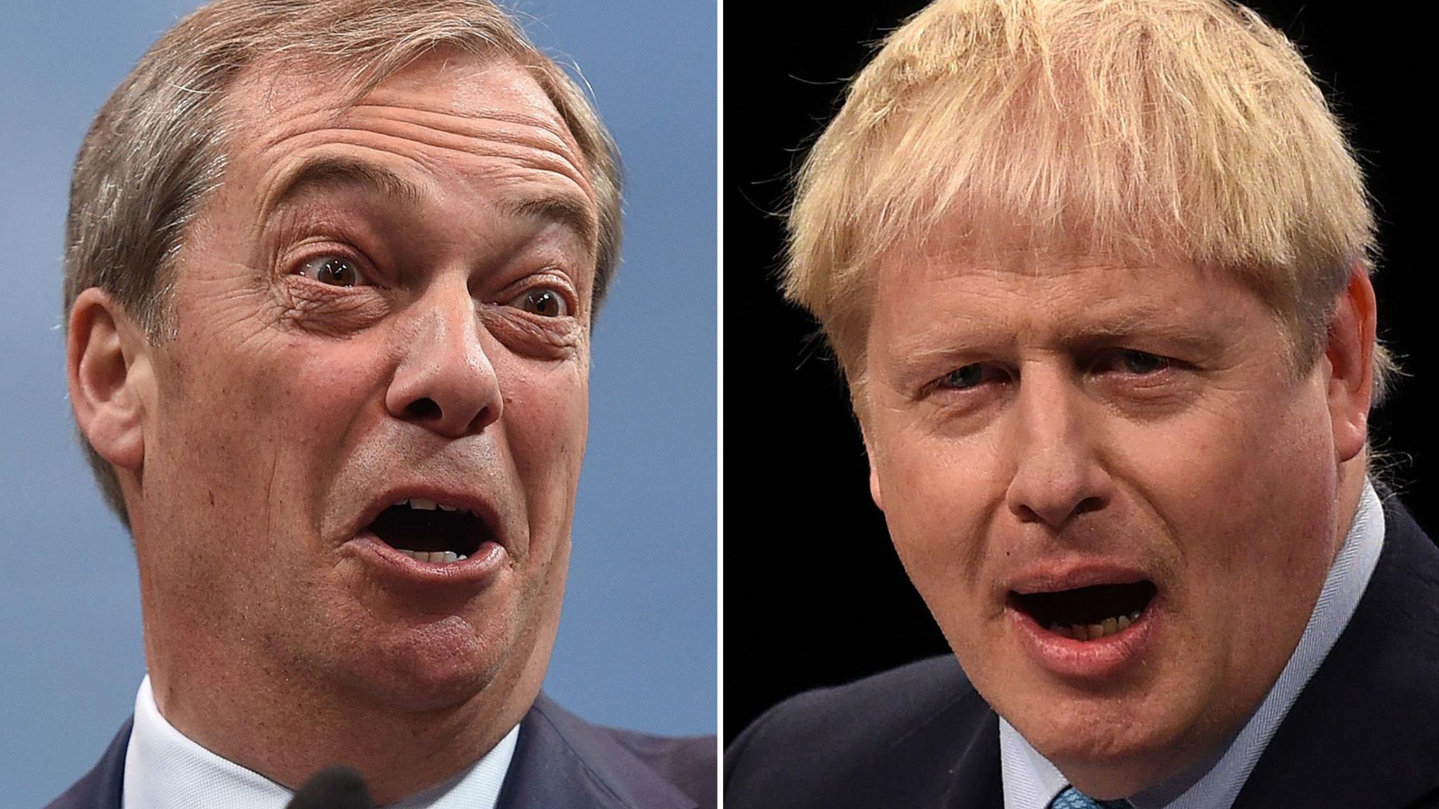Will Boris Johnson betray Nigel Farage?