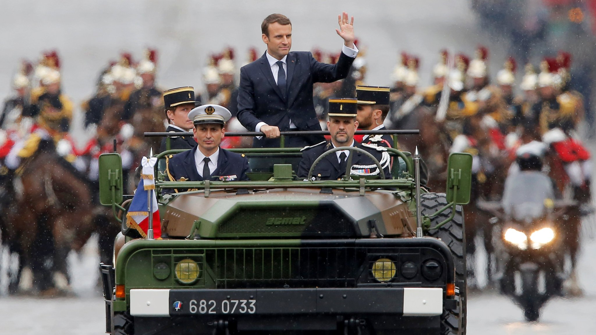 The Sun King Macron Burnishes His Presidential Image Financial Times