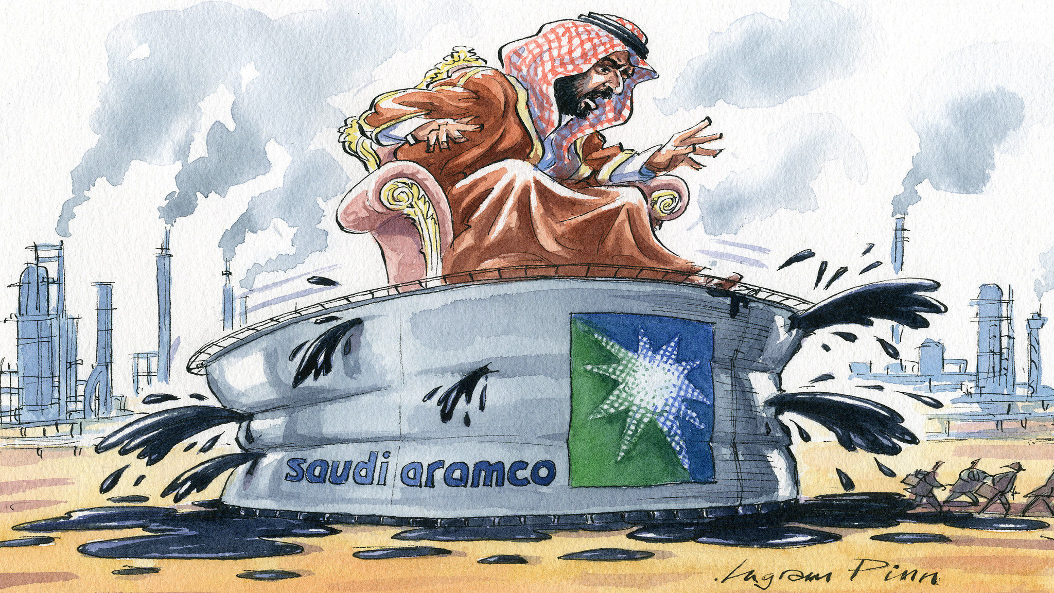Saudi Aramco does not rule the world