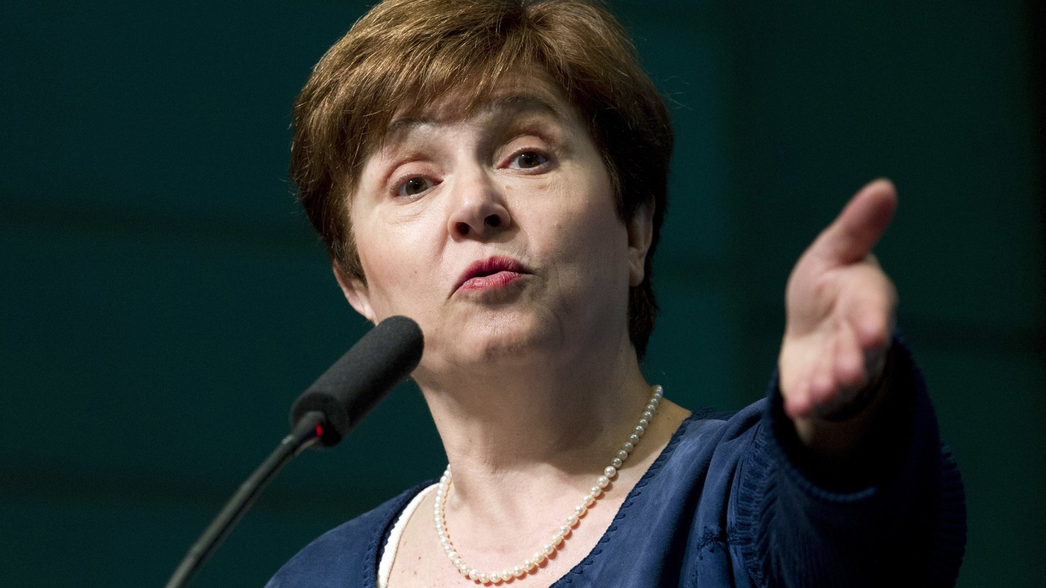 Kristalina Georgieva moves step closer to IMF top job