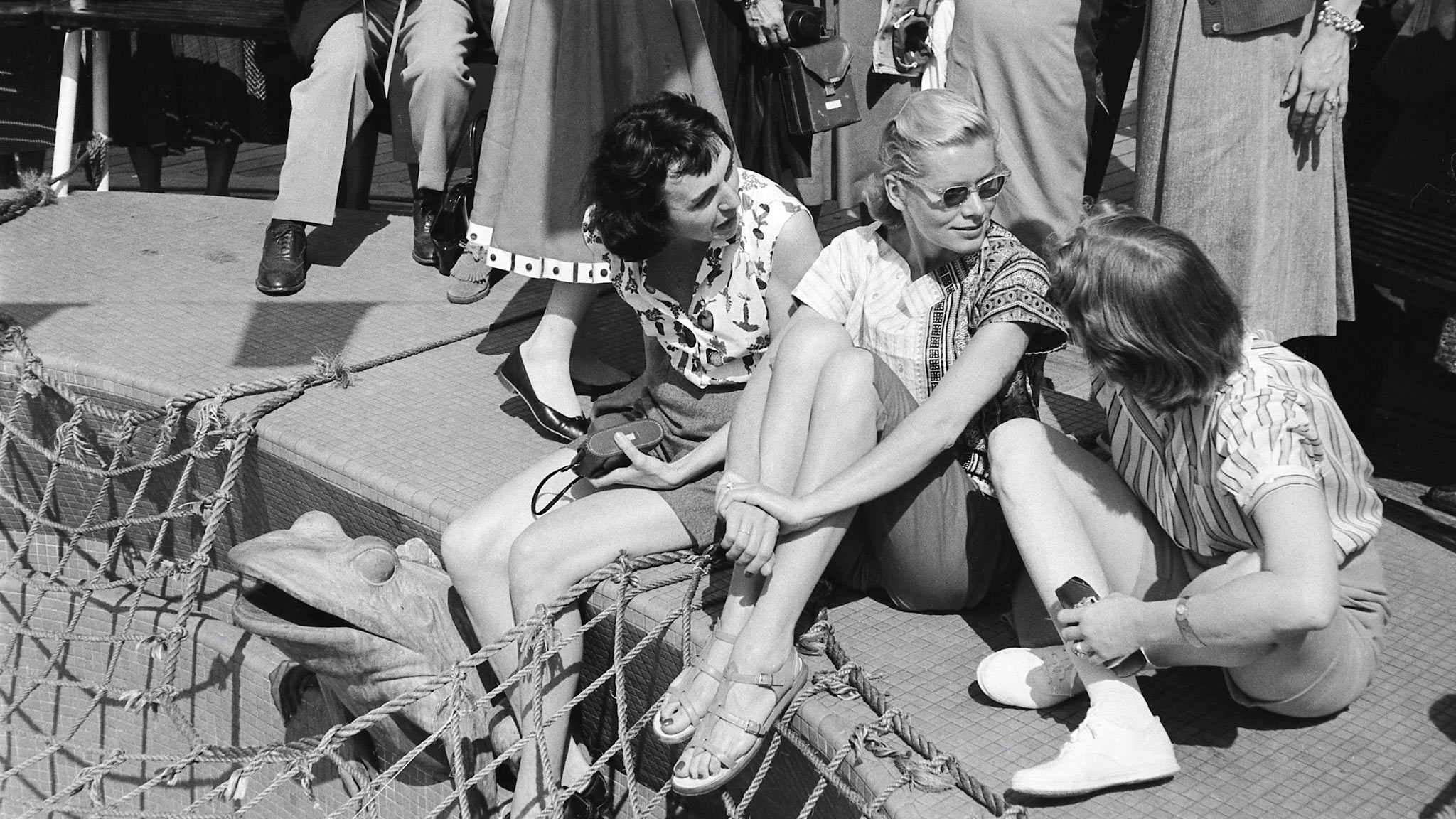2971a95ea Step out in Mediterranean sandals. The Mediterranean sandal has become a  fashion staple. Grace Kelly ...