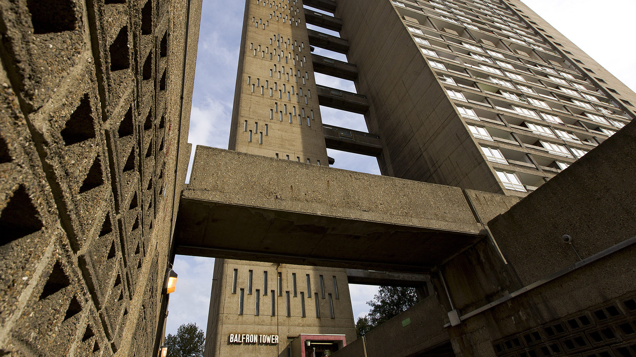 Inside the tower block refurbished for luxury living