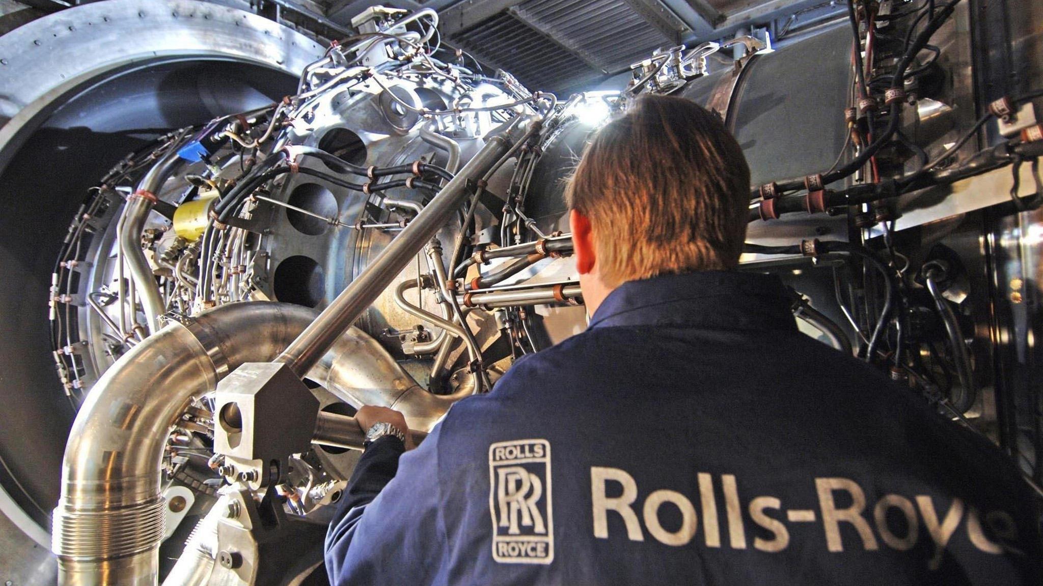 Resultado de imagen para Rolls-Royce engine factory