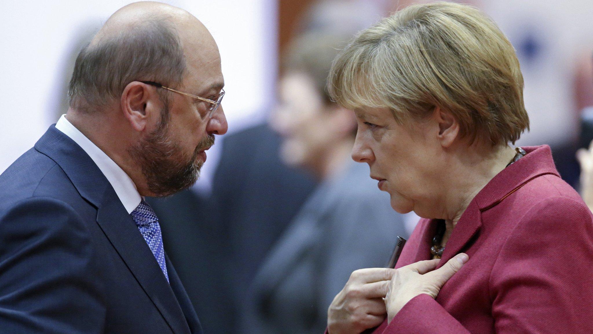 Merkel allies dismiss Schulz's 'United States of Europe' call