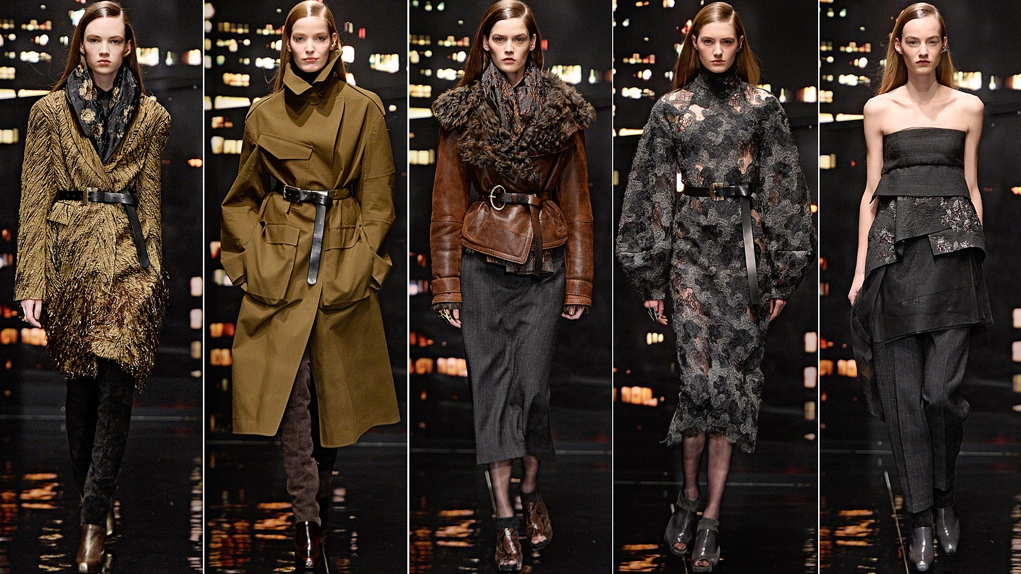 Donna Karan New York Fashion Week Aw15 Show Report Financial Times
