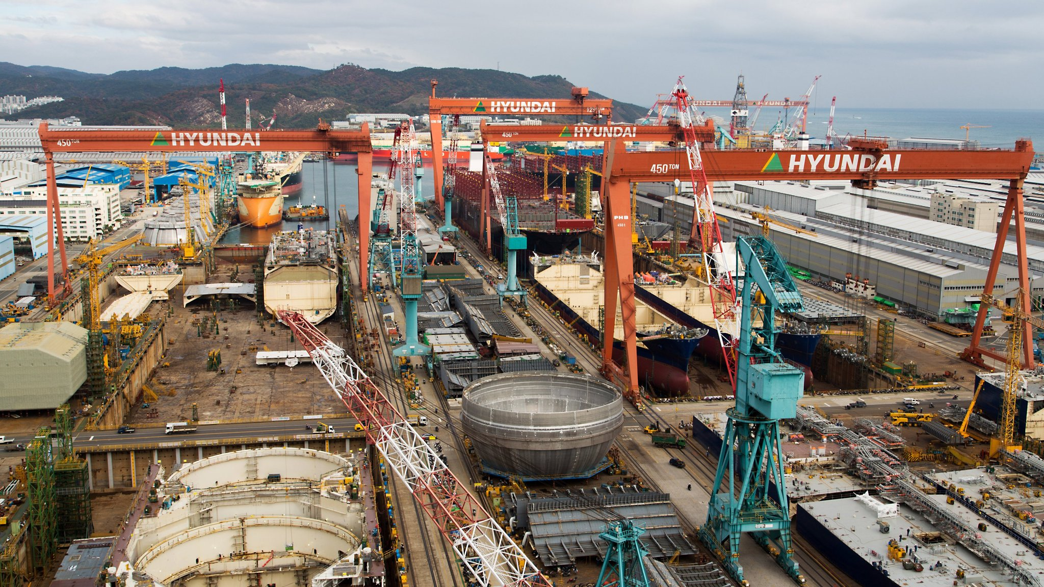 South Korean shipbuilders damped by poor quarterly results