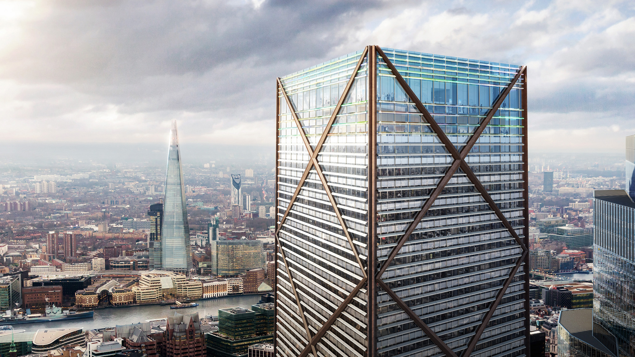 They Say Theyre Building Worlds Tallest >> City Of London S Tallest Building Rises Above Corporate Interests