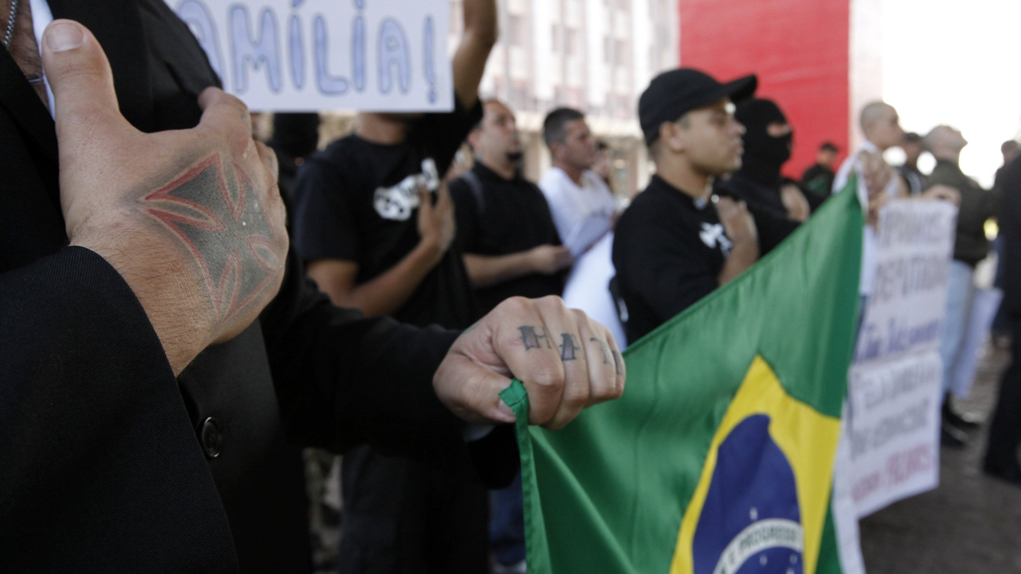 Image result for Brazil neo-Nazi claim challenges myth of nation's racial harmony