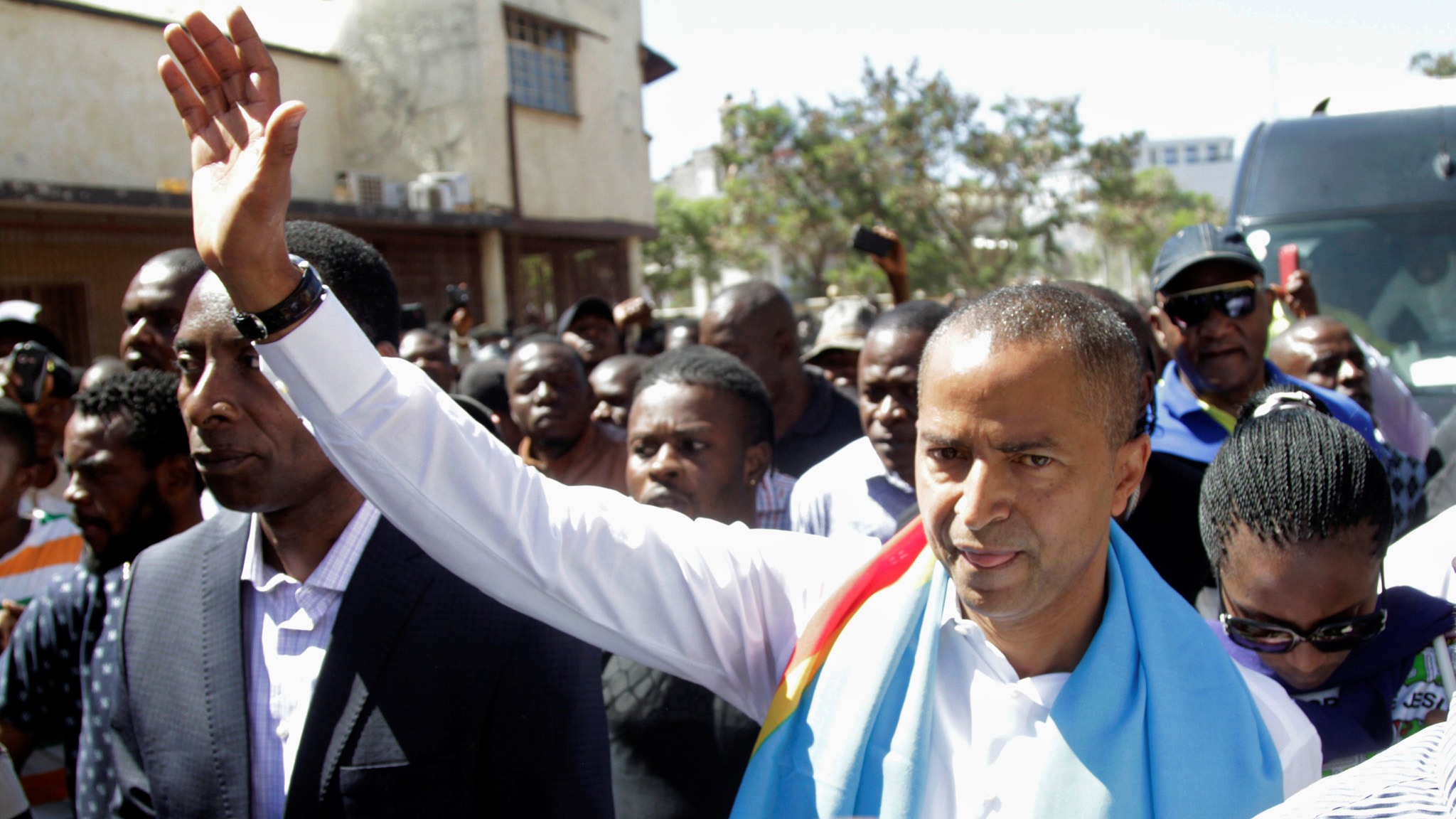 Congo opposition leader charged with hiring mercenaries