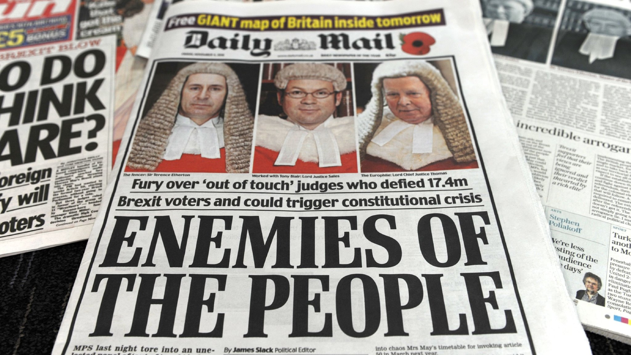 Image result for enemies of the people