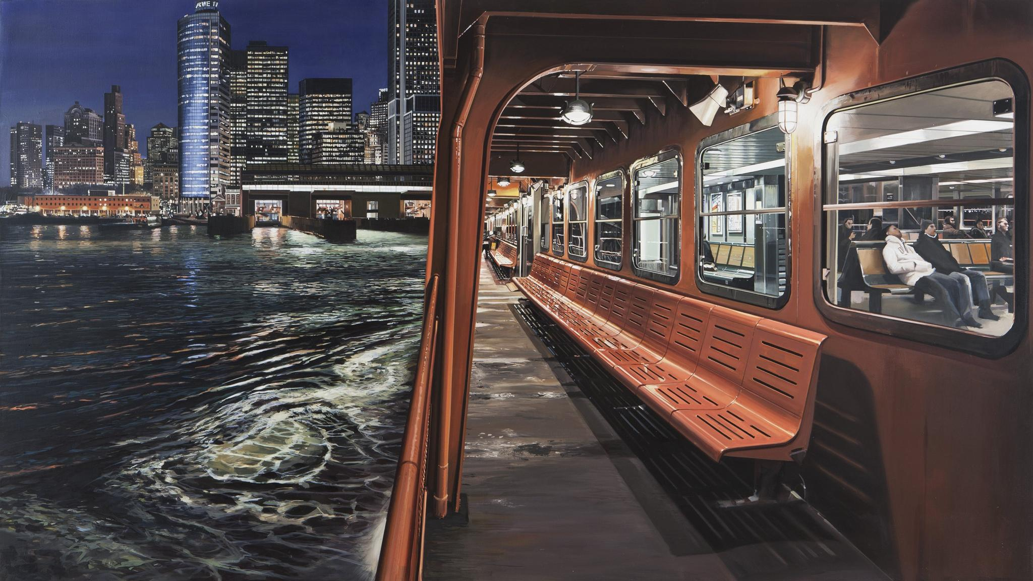 painting new york city, museum of arts and design, new york — review