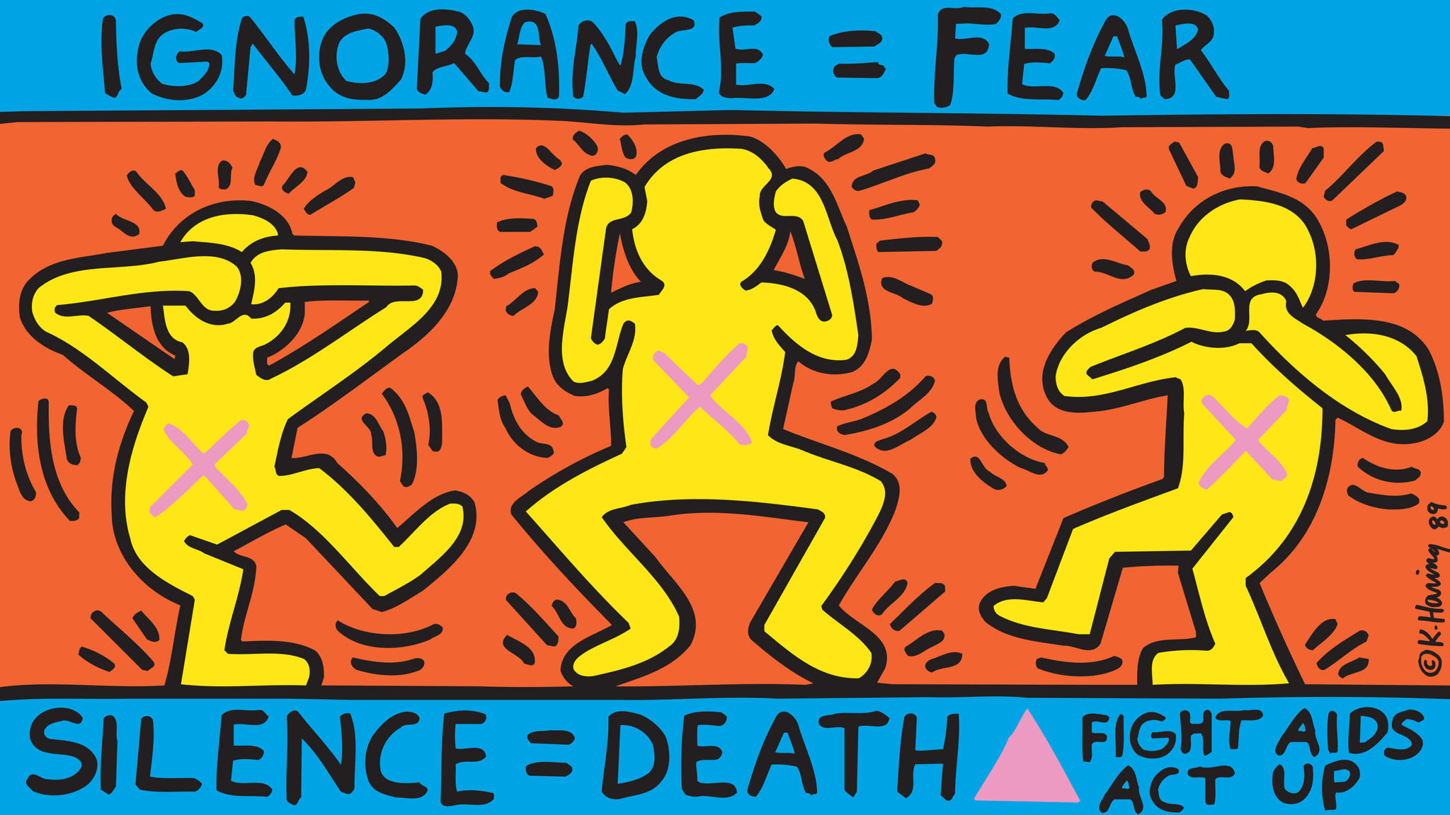 Works By Us Artist Keith Haring To Be Shown In Uk For First