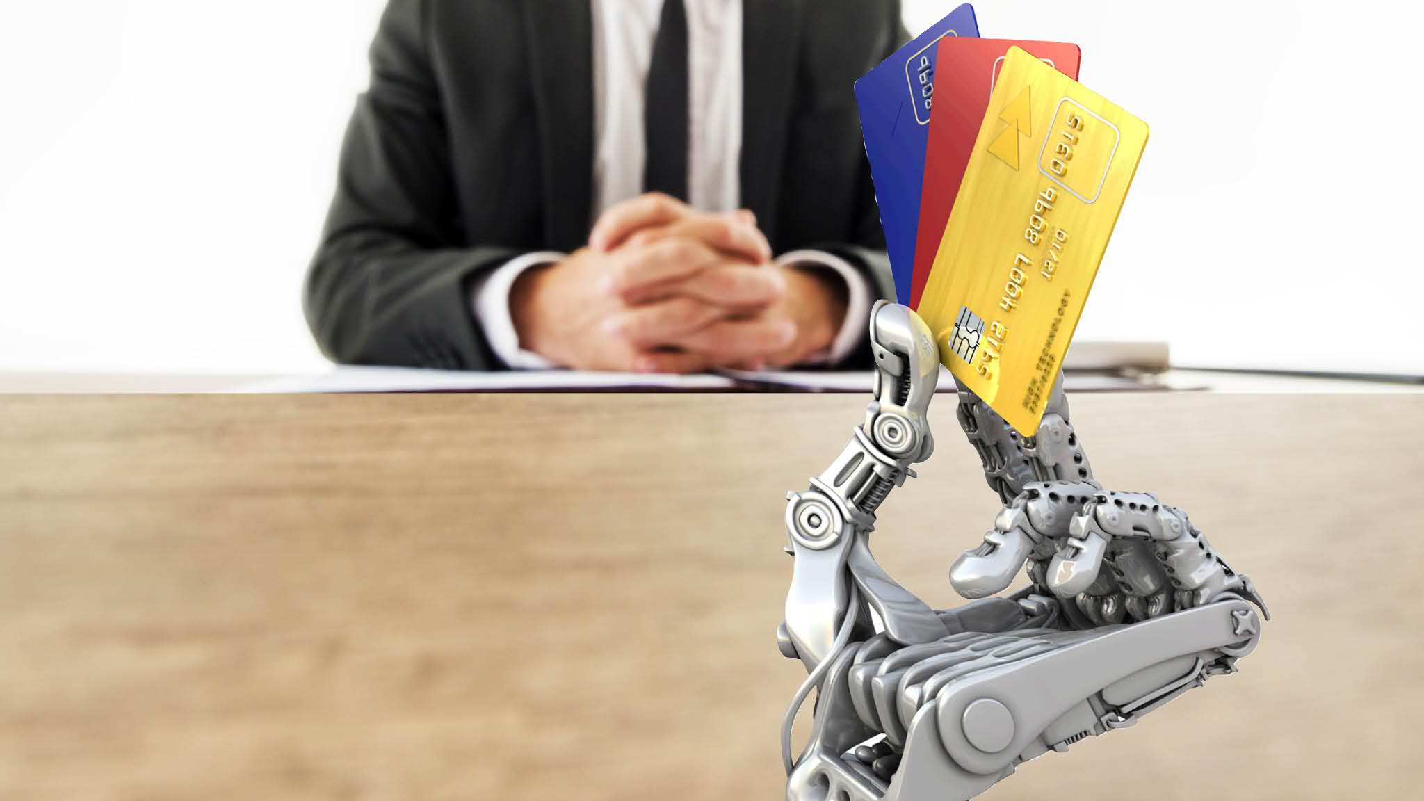%name A robot to assist you at Bank