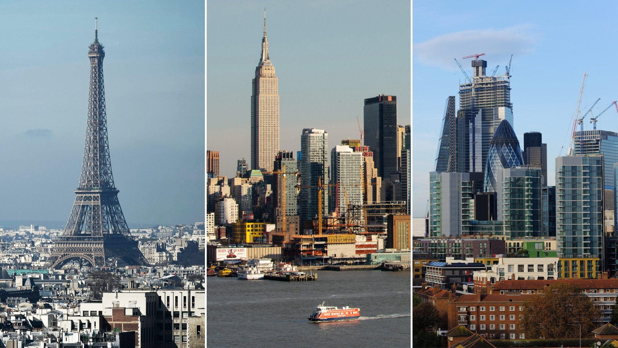 Global cities begin to shrink as inner areas empty out