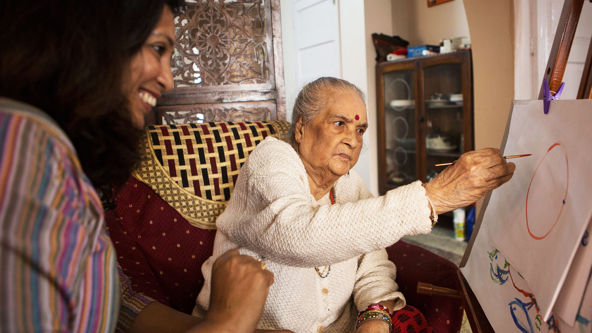 How families in India are filling the gaps in dementia care