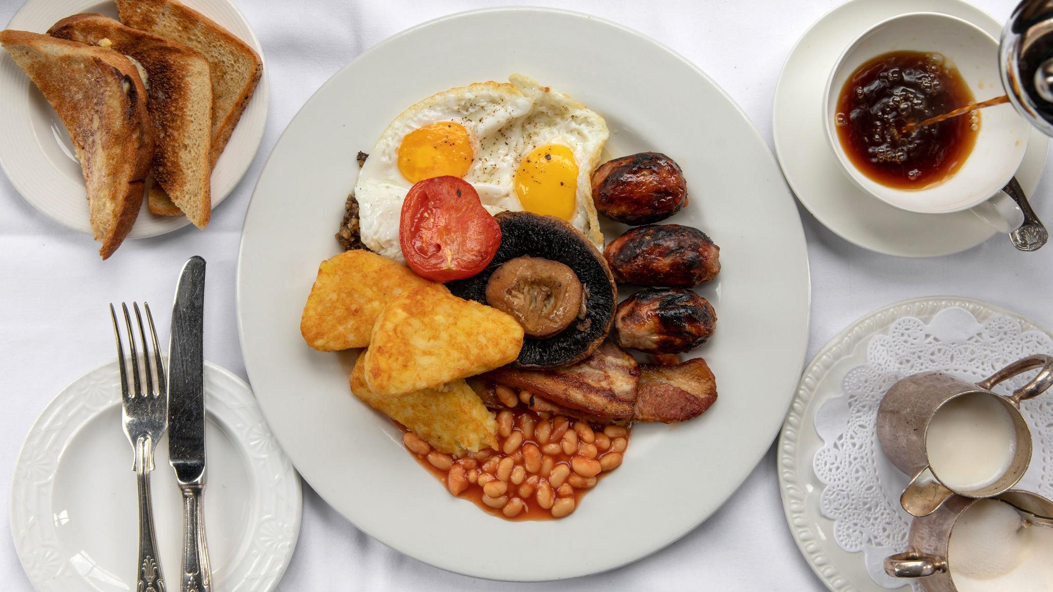 Power dining: London's best full English breakfasts