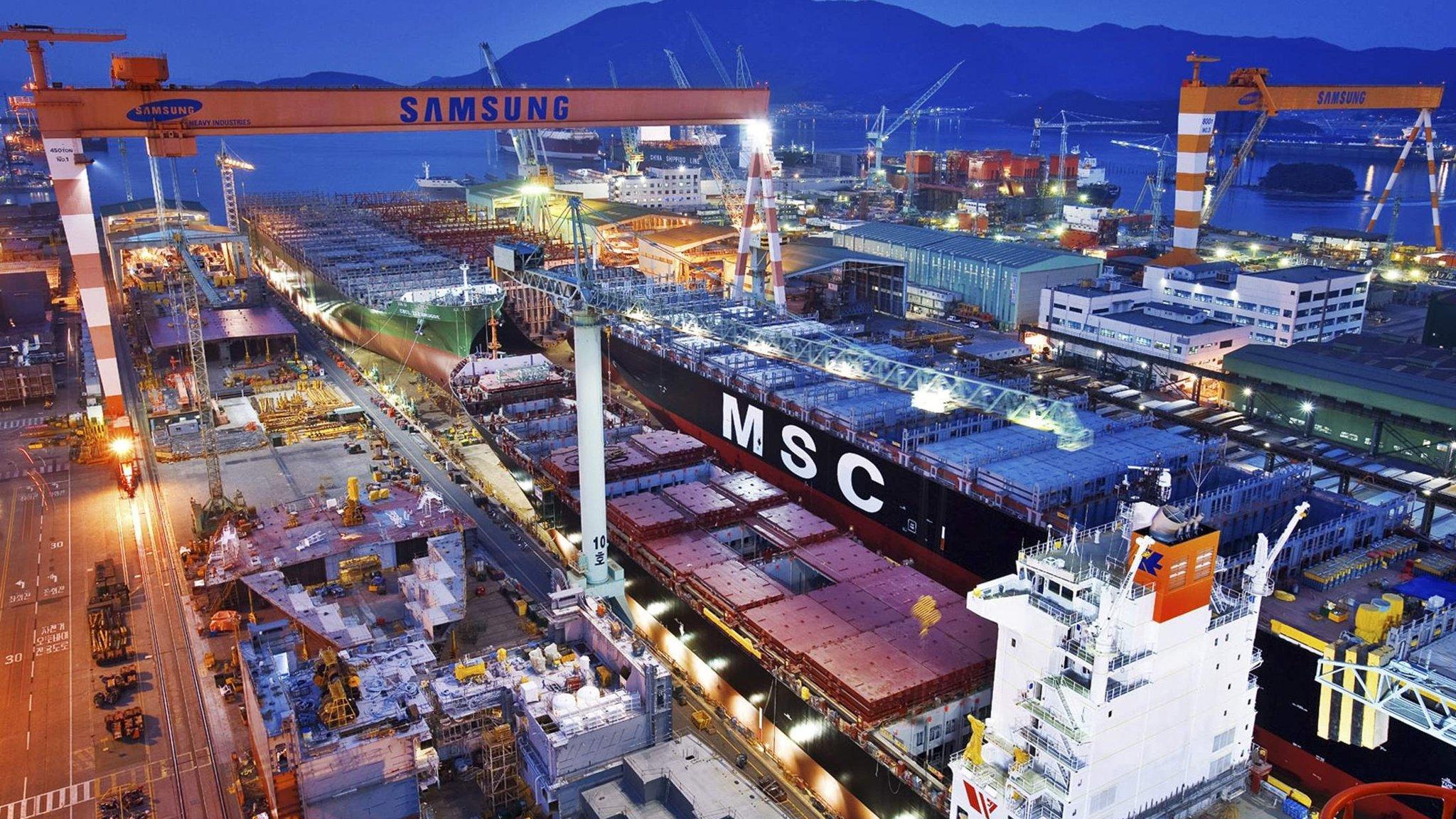 South Korean shipbuilders shaken by loss fears   Financial Times