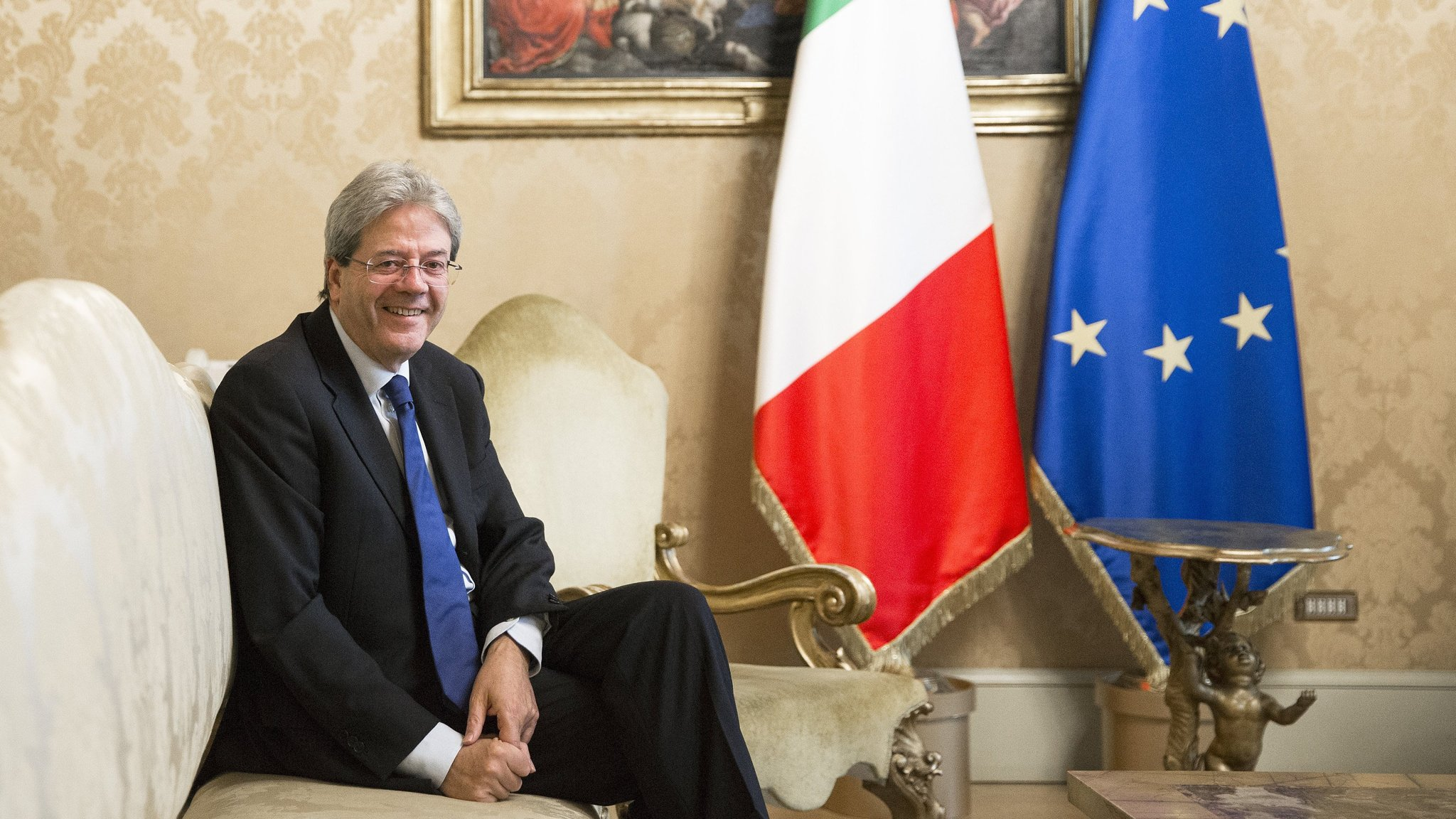 Italy's Gentiloni offers blunt warning on European integration