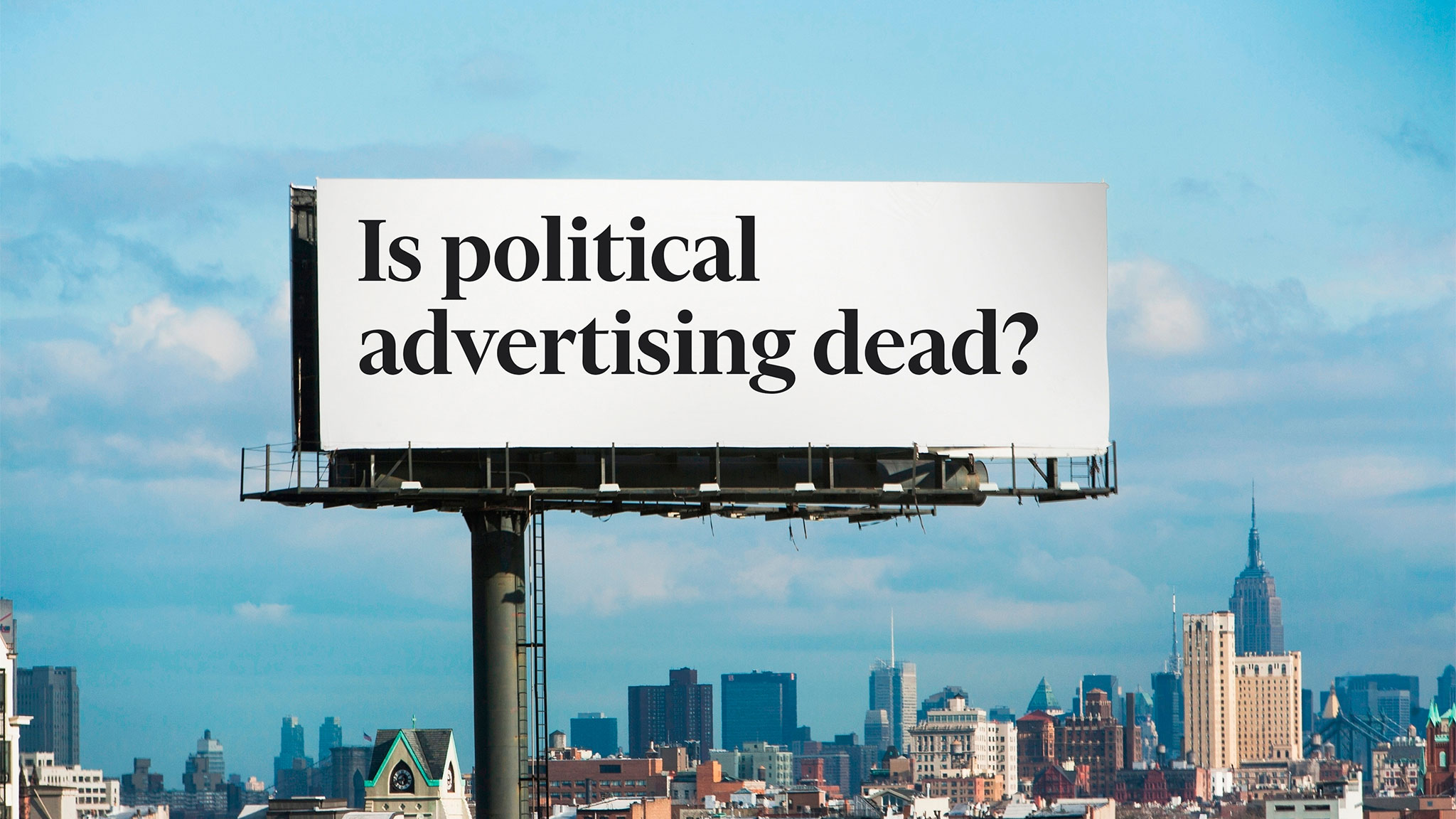 political advertising an industry in peril financial times