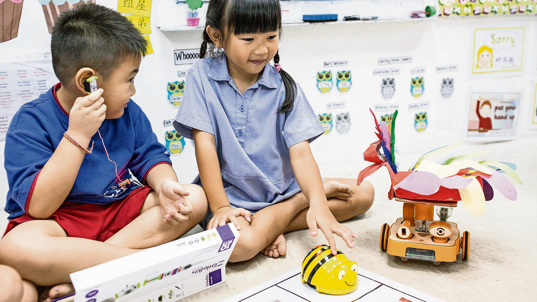 How robots are teaching Singapore s kids