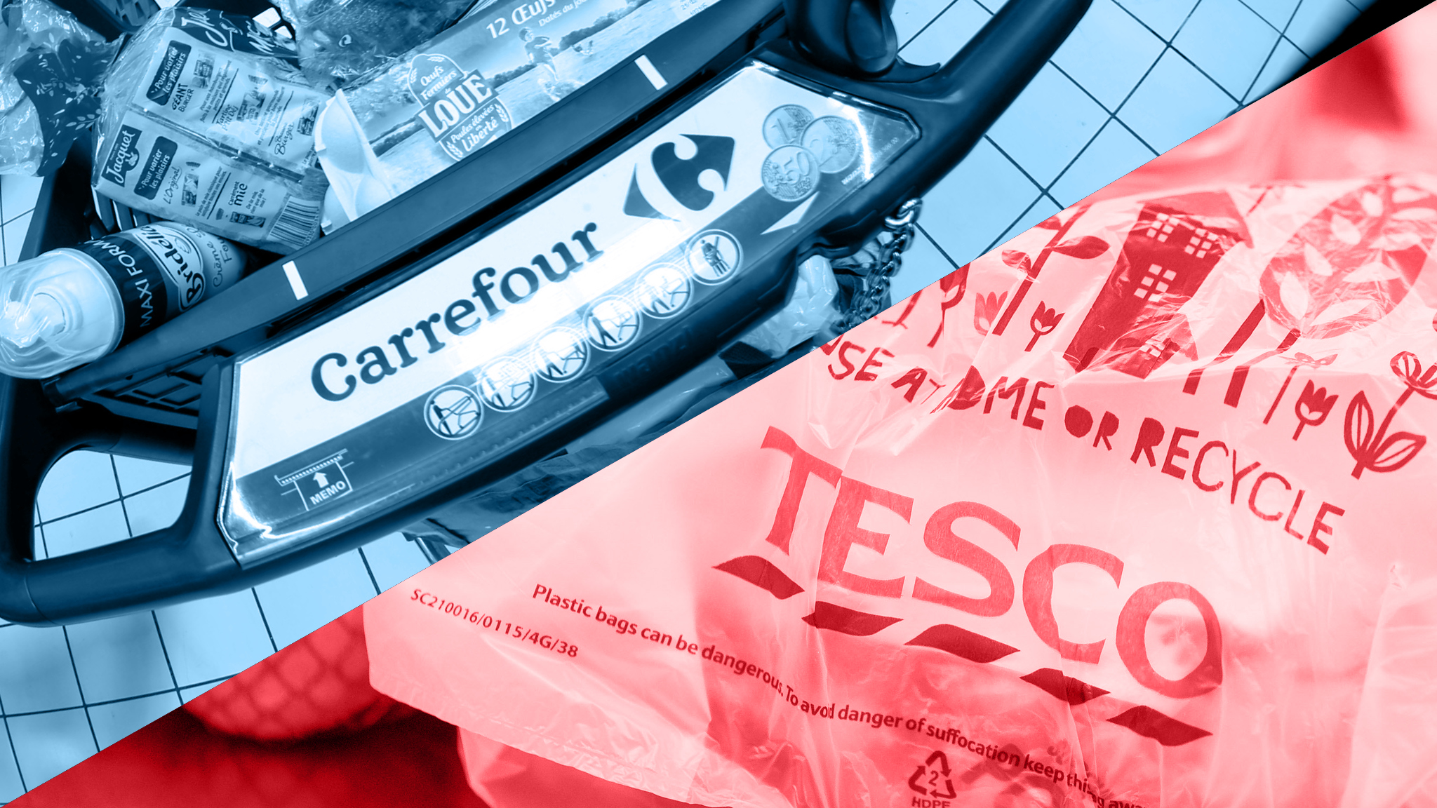 Tesco And Carrefour Team Up In Face Of Competitive Pressures