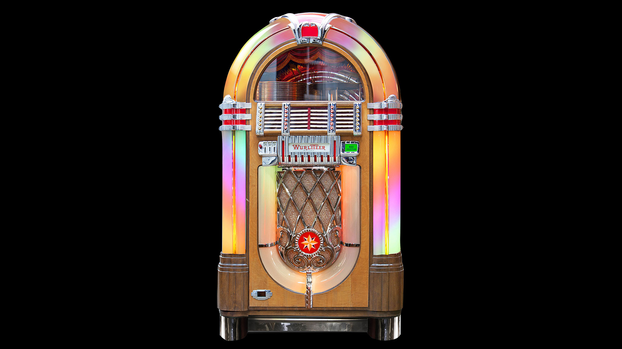 The Best Known Jukebox – The Wurlitzer 1015 – An American Design Classic