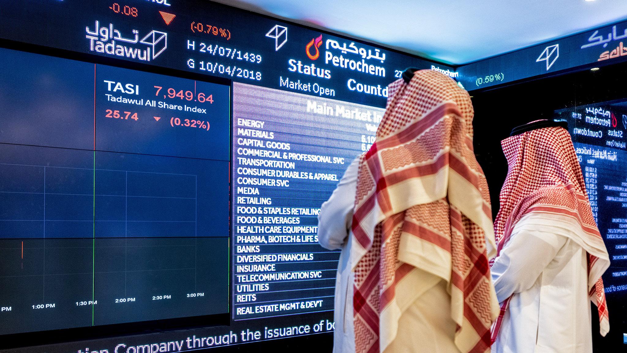 Image result for Saudi Financial Market