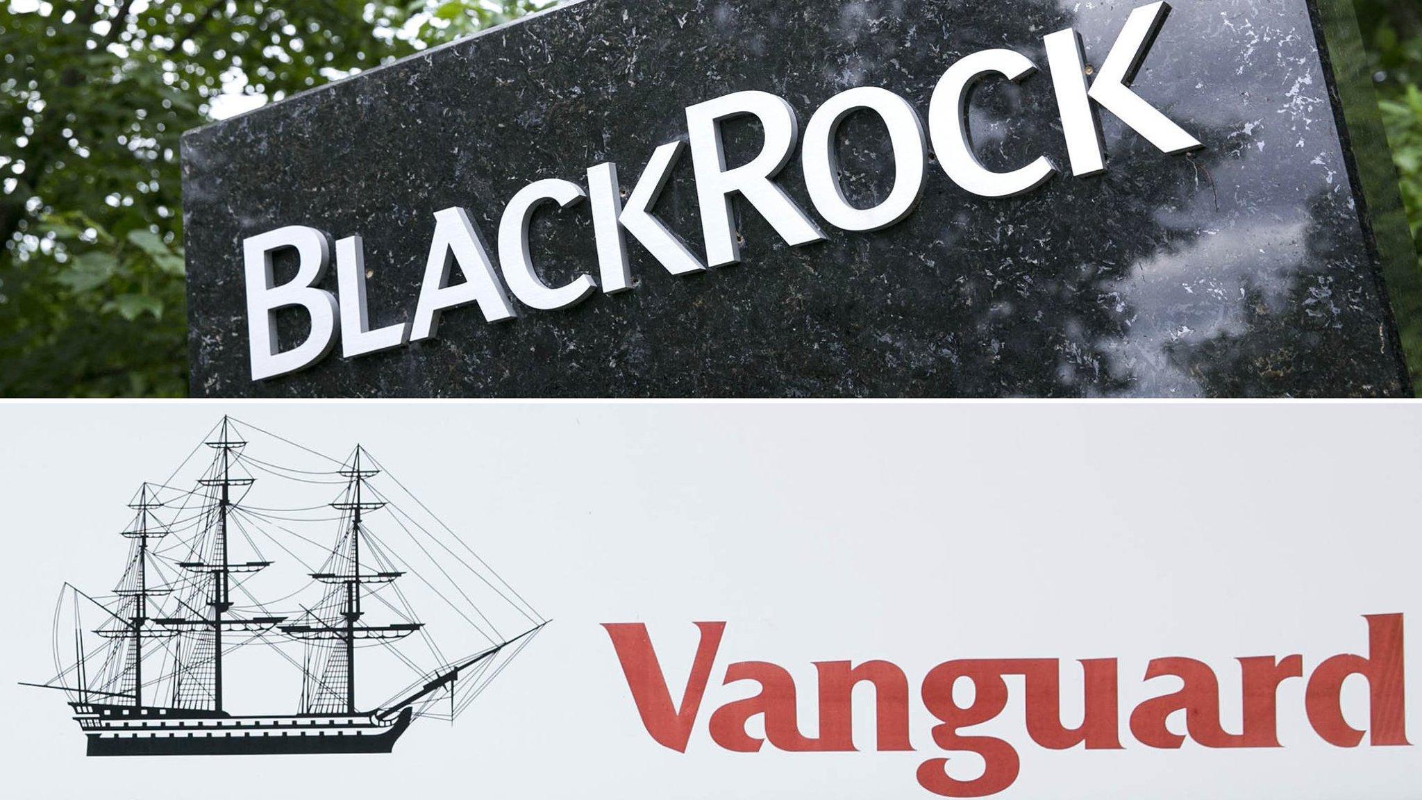 Vanguard nips at BlackRock's heels for fund crown   Financial Times