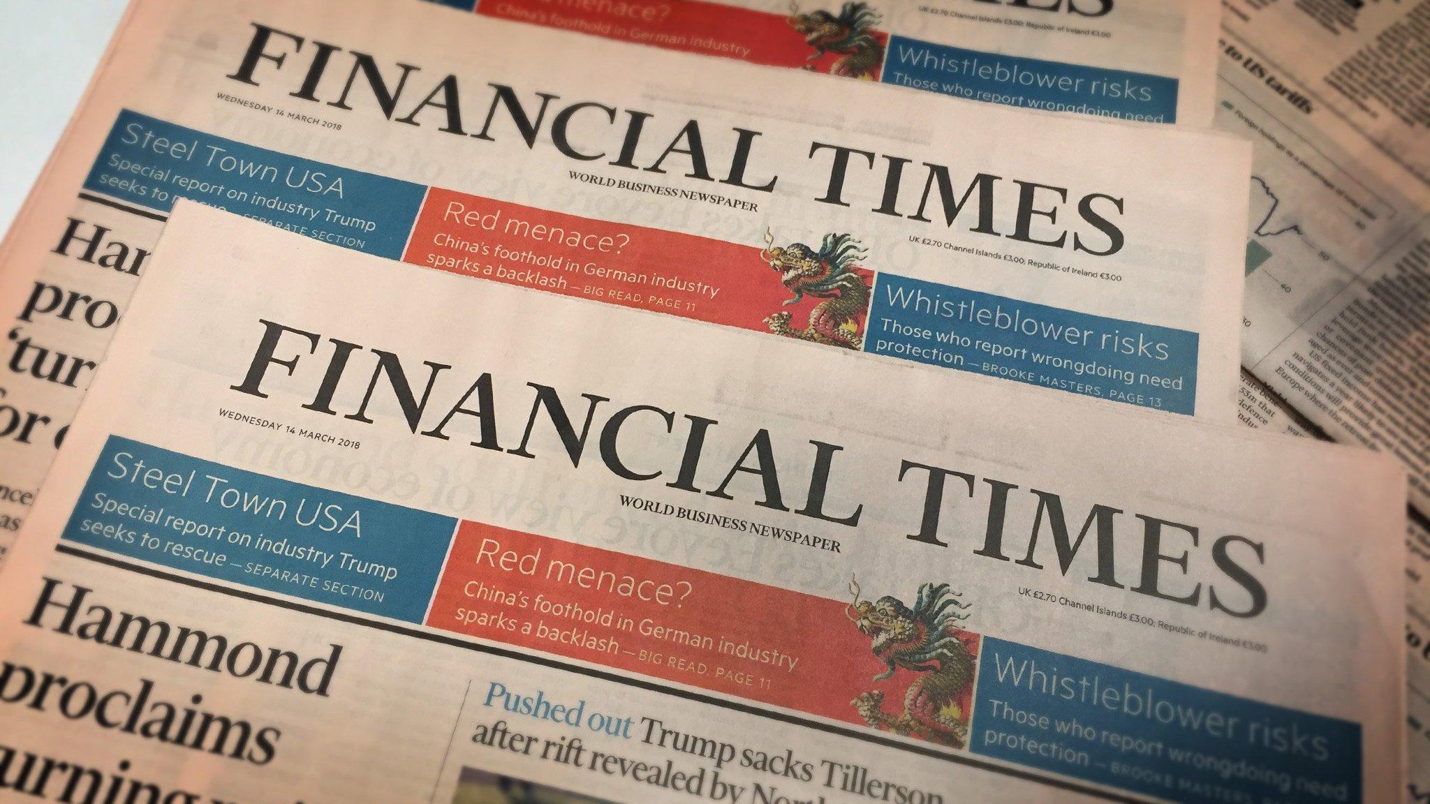 Sesli Makale - Haber -Financial Times: Erdoğan ekonomiyi aile meselesi yaptı