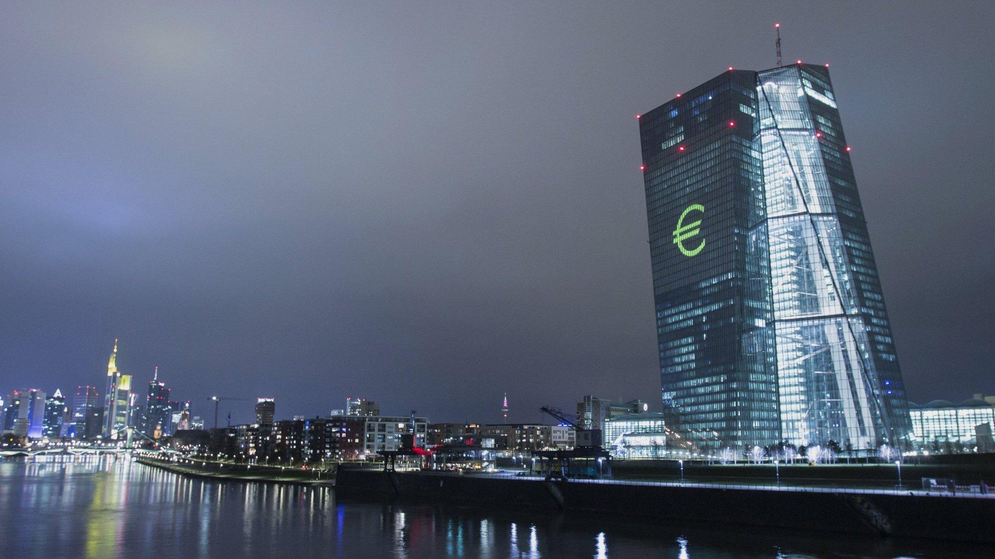 who controls the european central bank